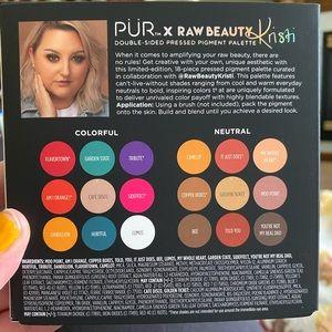 Bnib pur x raw beauty palette